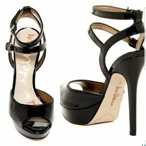Sam Edelman Nadine Patent Leather Heels